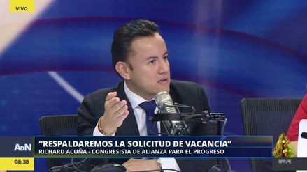 Alianza para el Progreso apoyará la propuesta de vacancia presidencial