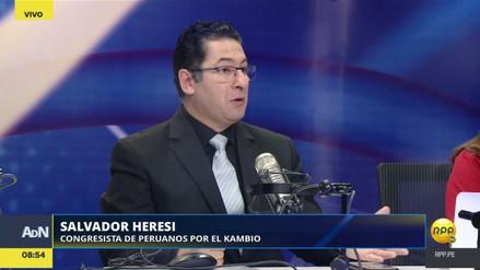 """Heresi sobre la vacancia presidencial: """"PPK tiene derecho a la presunción de inocencia"""""""