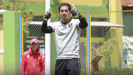 Patricio Álvarez cada vez más cerca de ser portero de Sporting Cristal