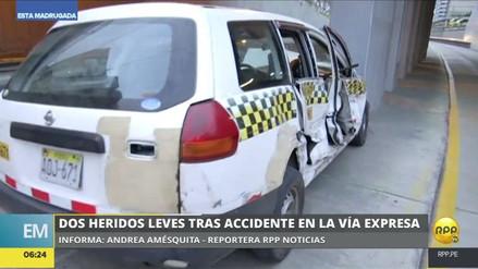 Un chofer causó un accidente, abandonó a los heridos y fugó