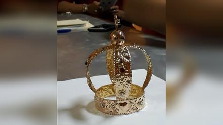 Cruz de Motupe lucirá nueva corona y mantos en misa papal