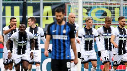 El Inter sufre su primera derrota del año y ve peligrar su liderazgo