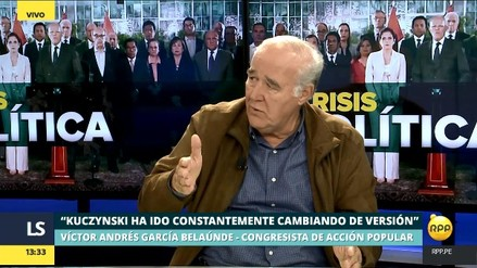 """García Belaúnde: """"No veo a Martín Vizcarra con la capacidad para dirigir al Perú"""""""
