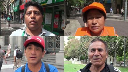 Los peruanos en Chile están preocupados por la crisis política por la vacancia