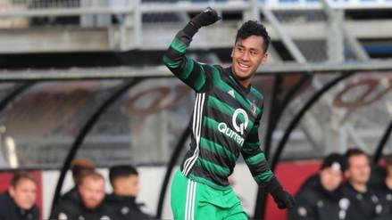 Renato Tapia anotó en la goleada del Feyenoord sobre el Sparta Rotterdam