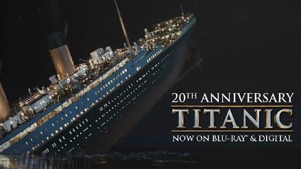 Titanic, 20 años representando el romance y el desastre