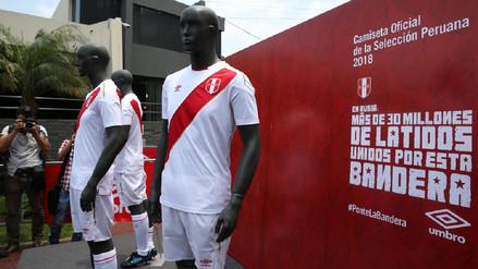 Todos los detalles de la camiseta de Perú para el Mundial Rusia 2018