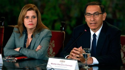 Mercedes Aráoz aseguró que vicepresidentes no renunciarán si PPK es vacado