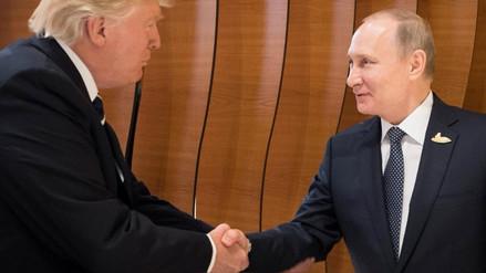Putin agradeció a Trump por información de la CIA que impidió un atentado en Rusia