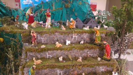 Promocionan turismo en el Cusco mediante nacimientos navideños