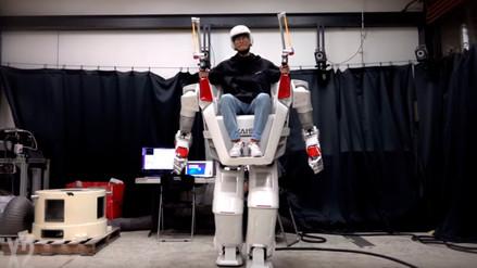 Ingenieros coreanos crearon un nuevo diseño de robot humanoide tripulado