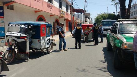 Inician operativos contra mototaxistas que ingresen al casco urbano