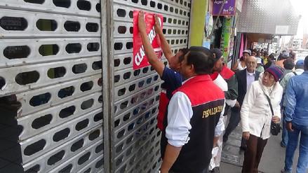 Galería La Perla fue clausurada por insegura y por falta de licencias