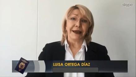 """Luisa Ortega Díaz: """"El chavismo me ofreció US$ 50 millones para que renunciara"""""""