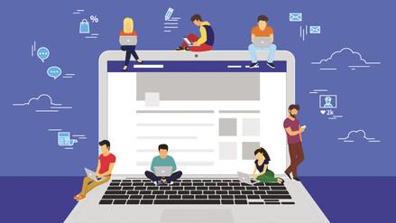 Interactuar en línea en Facebook puede proteger la salud mental