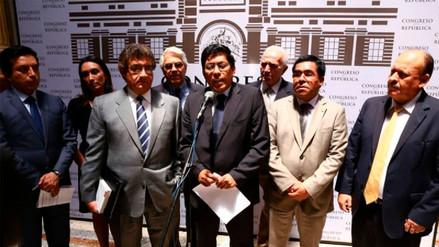 Bancada oficialista expondrá ante parlamentarios argumentos de defensa de PPK