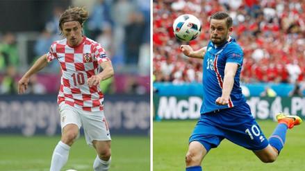 Las figuras de Croacia e Islandia que enfrentarán a la Selección Peruana