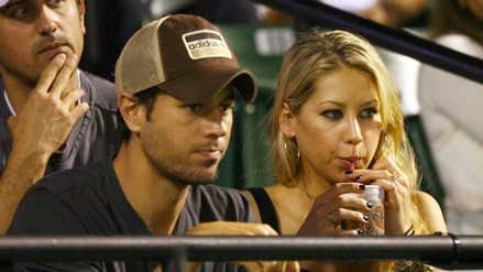 Enrique Iglesias y Anna Kournikova se convirtieron en padres de mellizos