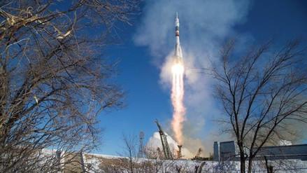 La Soyuz MS-07 se acopló con éxito a la Estación Espacial Internacional