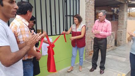 Programa Cuna Más inaugura tres nuevos locales en distrito de Pátapo