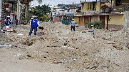 Detectan falta de supervisión en obra de saneamiento de Castilla