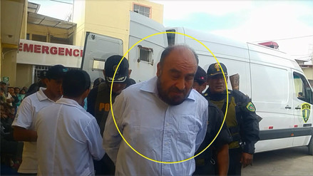 Roberto Torres regresó al penal de Chiclayo tras permanecer hospitalizado
