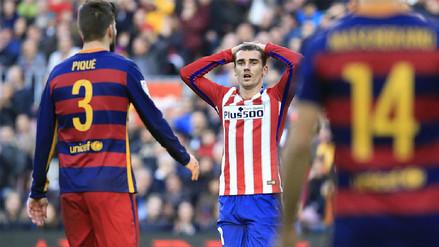 El Atlético de Madrid denunció al Barcelona por Griezmann