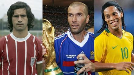 Los jugadores que lograron ganar el Mundial, la Champions League y el Balón de Oro