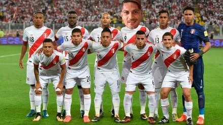 ¿Cómo formará Perú en Rusia 2018 con Paolo Guerrero?