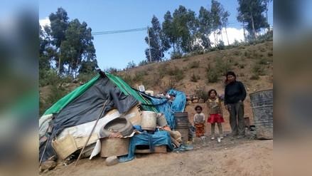 Familia en extrema pobreza pide apoyo a pocos días de la Navidad