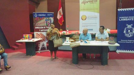 Artesanas participan de encuentro organizado por Gerencia de Turismo