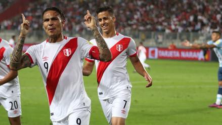 ¿Qué partidos jugará Paolo Guerrero con Perú antes de Rusia 2018?