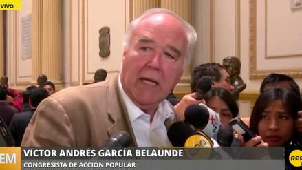 """García Belaúnde: """"La idea es acabar el debate y votación de la vacancia el mismo jueves"""""""