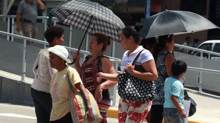 La temperatura máxima del verano en Lima alcanzará los 26 grados