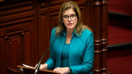 Mercedes Aráoz ratificó su apoyo al presidente Pedro Pablo Kuczynski