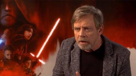 Mark Hamill decepcionado con 'Star Wars: The Last Jedi'
