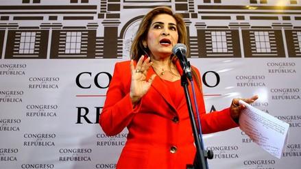 Congresista Maritza García perdió el título de abogada por certificados falsos