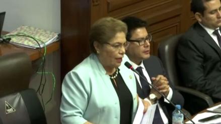 """Luz Salgado: """"El verdadero golpe es cuando PPK le dice a los vicepresidentes que renuncien"""""""