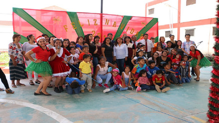 Internas del penal de Chiclayo celebraron la Navidad junto a sus niños