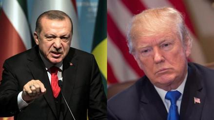 """Erdogan sobre Trump: """"Es parte de la opresión de Israel a Palestina"""""""