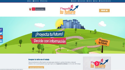 MTPE lanzó app para ayudar a jóvenes a planificar su futuro laboral