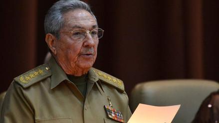 Raúl Castro confirmó que dejará el poder el 19 de abril
