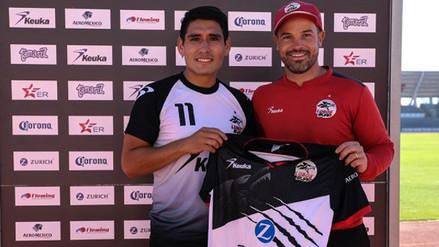Irven Ávila fue presentado como el tercer peruano de los Lobos BUAP
