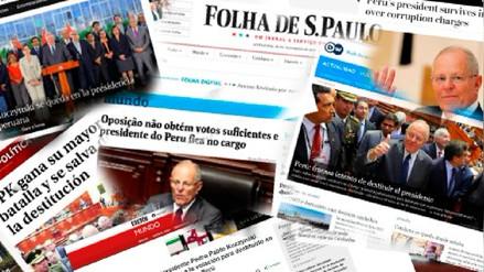 PPK no fue vacado y así informaron los medios extranjeros
