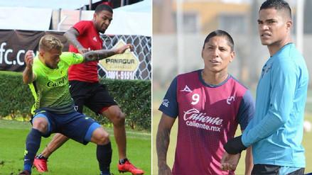 Jugadores peruanos comenzaron a tener actividad en México
