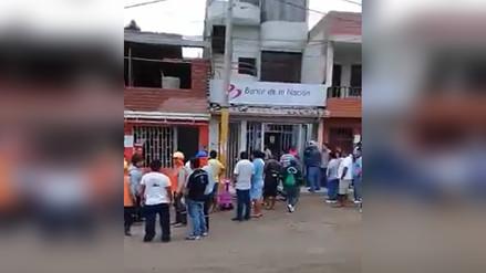 Asaltan Banco de la Nación del distrito de Supe en  Barranca