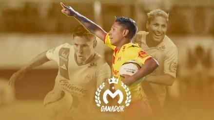Monarcas Morelia eligió a Raúl Ruidíaz como el jugador del año