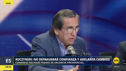 """Del Castillo: """"En el APRA no tomamos ningún acuerdo de votación"""""""