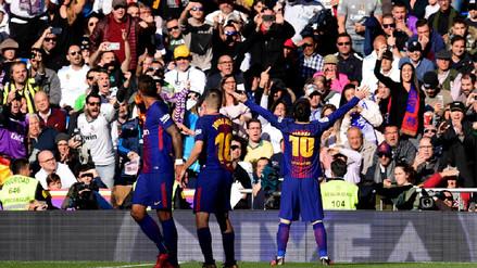 Barcelona y su histórico tercer triunfo consecutivo en el Santiago Bernabéu
