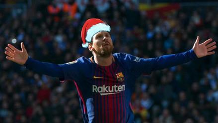 Lionel Messi fue bautizado como 'Papá Lionel' tras el Clásico en el Bernabéu